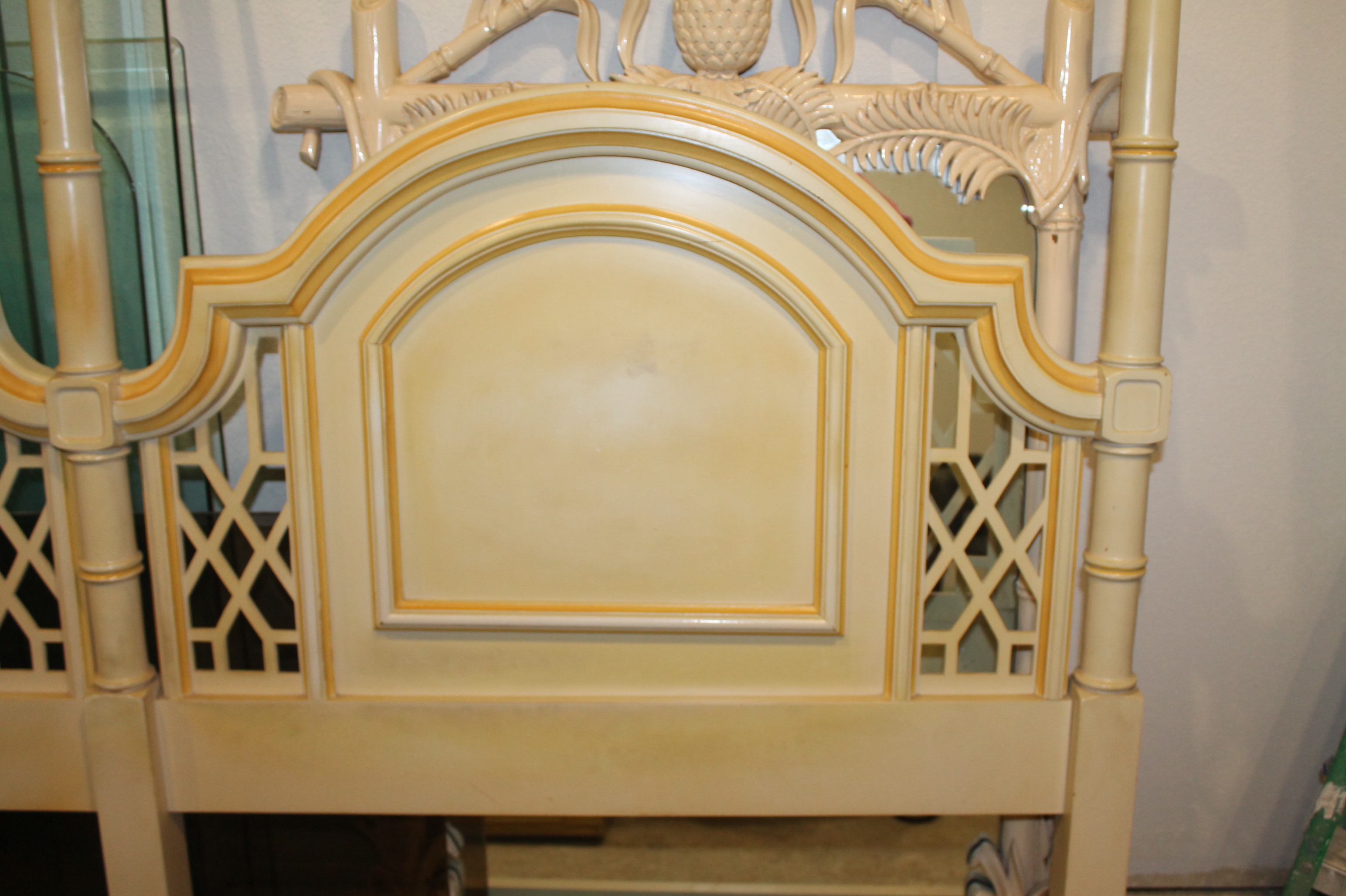 Fretwork Chinese Chippendale King Size Headboard Florida
